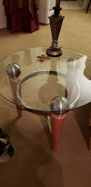 Glass tables for sale for Sale in Houston, TX