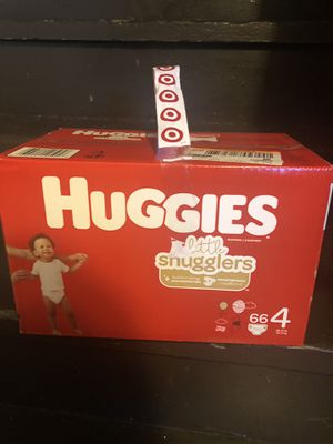 Huggies Little Snugglers size 4 (Trades for things I need are welcome) for Sale in Chicago, IL