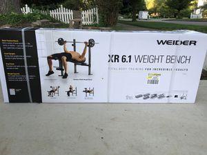 Weider XR 6.1 Weight Bench for Sale in Holland, MI