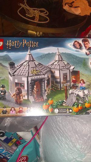 Lego Harry Potter Hagrid's Hut Buckbeak's Rescue for Sale in Santa Clara, CA