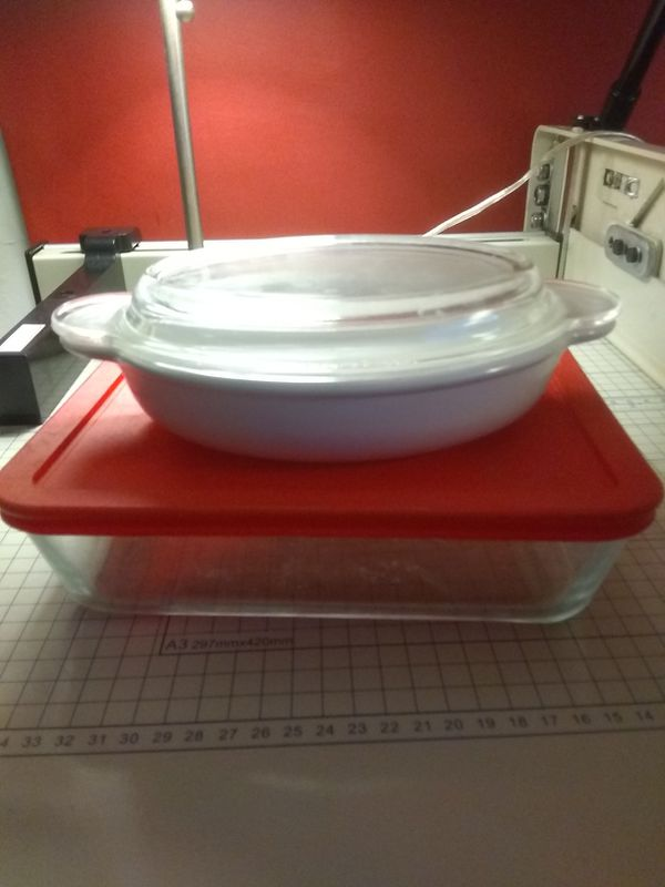 Pyrex dishes