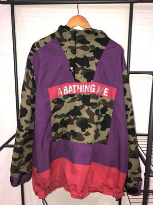 BAPE Anorak Jacket Pullover Hoodie 1st Camo for Sale in Rockwall, TX