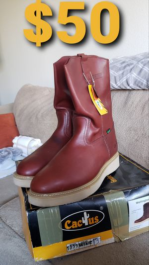 Cactus steel-toed work boots for Sale in Anchorage, AK
