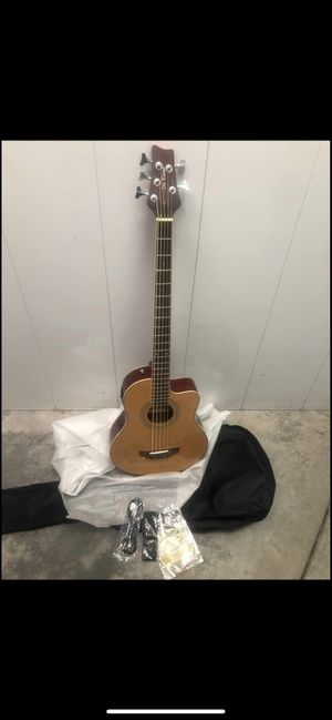 Acoustic electric bass guitar 5 string for Sale in Tracy, CA
