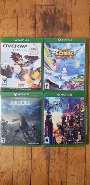 4 Xbox one games for Sale in Mansfield, TX