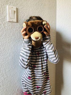 Plush teddy bear binoculars for kids playful for Sale in Sacramento, CA
