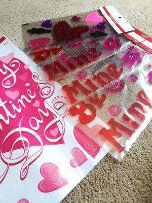 Romantic Heart Window Clings Lot for Sale in Sunnyvale, CA