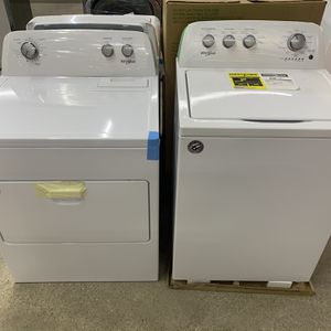 NEW Whirlpool Top Load Washer and Dryer Set! WE FINANCE, No Credit Checks! for Sale in Houston, TX