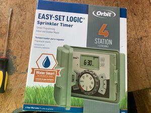 Orbit 4 station sprinkler timer for Sale in Lockport, IL