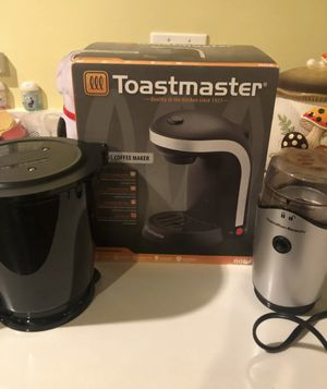 Toastmaster single coffee maker n more All for $10.00 for Sale in Hayward, CA