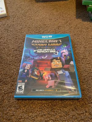 Minecraft story mode the complete adventure WiiU for Sale in Los Angeles, CA
