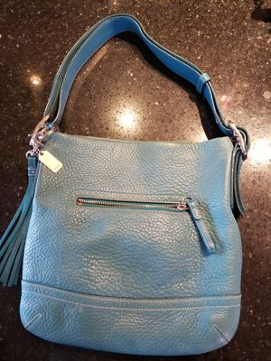 Coach Purse Turquoise for Sale in Gilbert, AZ