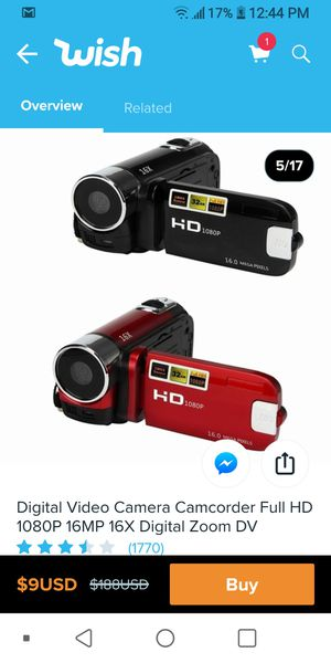 Digital camcorder for Sale in Memphis, TN