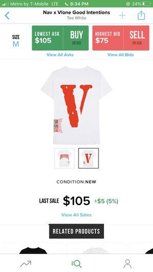 Nav x vlone tee for Sale in Hemet, CA