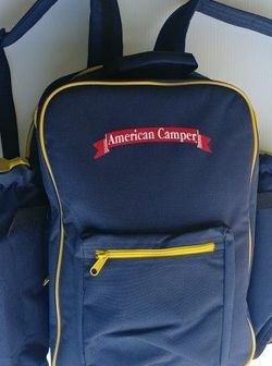 American Camper Picknic Backpack Bag For 4 Persons for Sale in Lynnwood,  WA