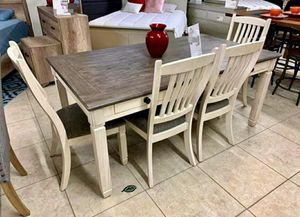 🏷Best OFFER. Willowbend White Dining Set for Sale in Columbia, MD