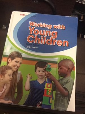 Working with young children textbook for Sale in Anaheim, CA