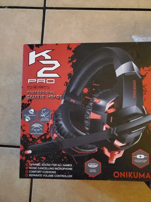 Xbox one &ps4 chat headset with mic for Sale in Downey, CA