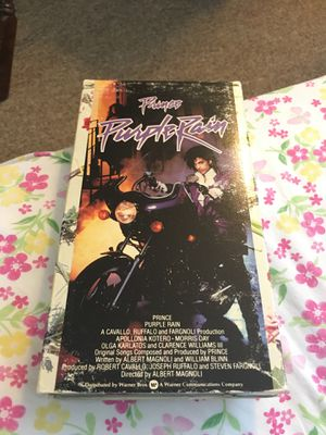 Prince - Purple Rain - 1984 VHS Tape for Sale in Federal Way, WA