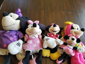 minnie mouse plushies for Sale in Pico Rivera, CA