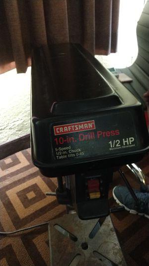 Craftsman 10in drill press for Sale in Yakima, WA