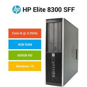HP 8300 Elite Small Form Factor Desktop Computer, Intel Core i5-3470 3.2GHz Quad-Core, 8GB RAM, 500GB SATA, Windows 10 Pro 64-Bit, $100 OBO for Sale in Fresno, CA