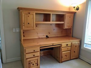 Custom desk with bookshelves and cabinets. for Sale in Los Altos, CA