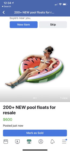 200+ pool floats new sealed for resale for Sale in NO POTOMAC, MD
