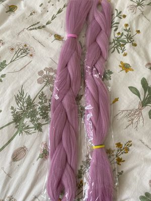 Colored braiding hair/HALLOWEEN for Sale in Moreno Valley, CA