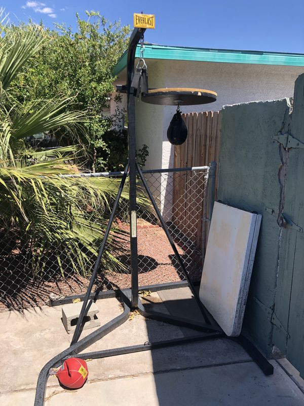 Punching Bag Stand