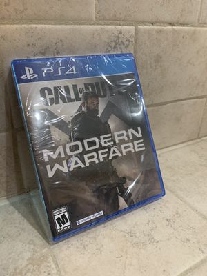 Ps4 modern warfare new for Sale in Fresno, CA