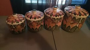 Ceramic canister set for Sale in Greenville, SC