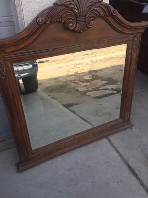 Solid Dresser Mirror for Sale in Fresno, CA