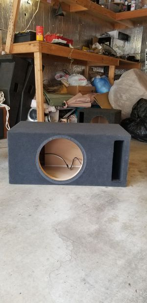Subwoofer enclosure 12inch for Sale in Maple Valley, WA