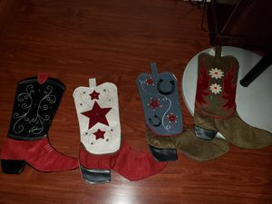 Christmas boots for Sale in Los Angeles, CA