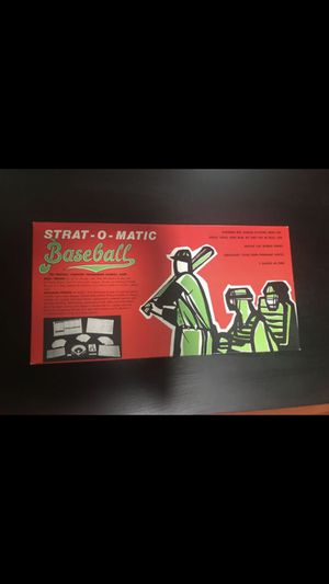 Strat-o-matic Baseball Game for Sale in Elk Grove Village, IL