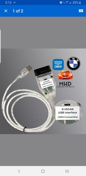 BMW inpa cable & CD for Sale in Norcross, GA