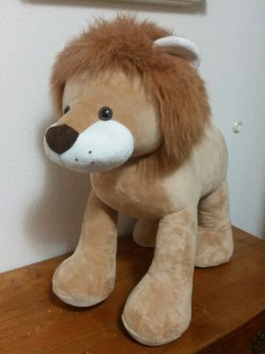 "26"" Stand up stuffed lion for Sale in Vancouver, WA"