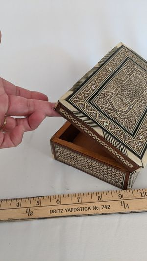 Egyptian Sheell Inlay Box for Sale in Livermore, CA