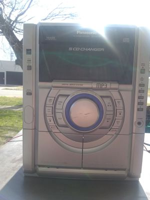 Panasonic radio and cassette and CD 5 dias for Sale in Oklahoma City, OK