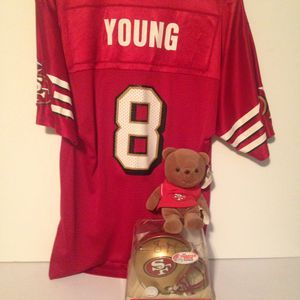 Steve Young Autograph lot for Sale in Lakeland, FL