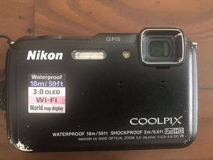 Nikon Coolpix AW110 Compact Digital Camera 📷 •Waterproof 18m/59ft •Shockproof 2m/6.6ft •Full HD •Wi-Fi •GPS for Sale in San Diego, CA