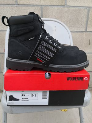 Brand new wolverine steel toe work boots size 11 and 11.5 for Sale in Riverside, CA