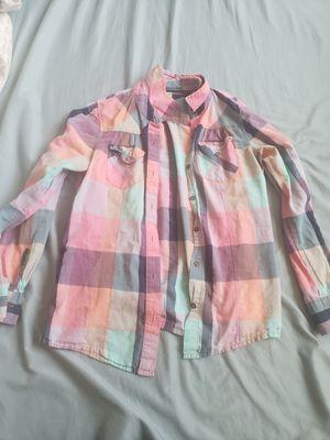 Girls flannel for Sale in Lodi, CA