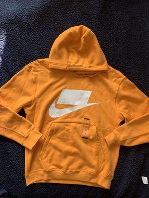 NIKE Men's Sportswear Fleece Hoodie Pullover Jacket BV4540-743 Yellow XL XXL for Sale in Powder Springs, GA