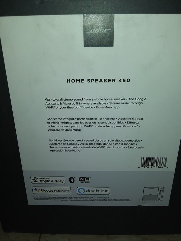 BOSE HOME SPEAKER Model450