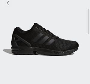 Mens Adidas ZX Flux Black Trainers size: 9.5 for Sale in Reedley, CA