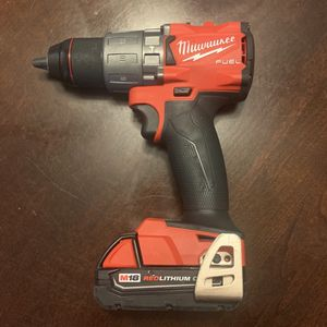 Milwaukee Hammer Drill,Milwaukee M18 Lithium Battery 1.5Ah for Sale in West Valley City, UT
