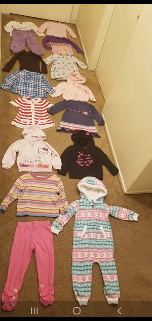 Size 2 years girl clothes for Sale in Anaheim, CA