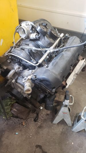 06 jeep 3.7 motor for parts only for Sale in Dallas, TX